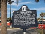 USS Gulfamerica Marker, Jacksonville Beach, FL