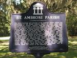 St. Ambrose Parish Marker, St. Augustine, FL