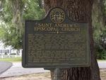 St. Andrew's Episcopal Church Marker, Darien, GA