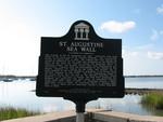St. Augustine Sea Wall Marker, St. Augustine, FL