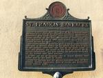 St. Francis Barracks Marker, St. Augustine, FL