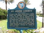 St. Johns County Marker, Ponte Vedra, FL