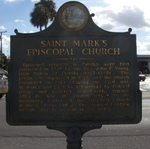 St. Mark's Episcopal Church Marker, Palatka, FL by George Lansing Taylor Jr.