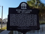 Starke Woman's Club Marker (Obverse) Starke, FL