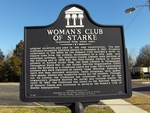 Womans Club of Starke (Reverse), Starke, FL