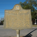 Stewart County Academy & Masonic Building Marker, Lumpkin, GA