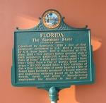 Sunshine State Marker, St. Augustine, FL