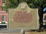 Governor Thomas W. Hardwick Marker, Sandersville, GA