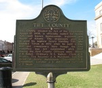 Tift County Marker, Tifton, GA