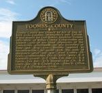 Toombs County Marker, Lyons, GA