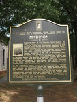 Madison Town Marker, Madison, GA by George Lansing Taylor Jr.