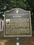 Madison Town Marker, Madison, GA