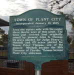 Town of Plant City Marker, Plant City, FL