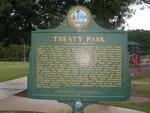 Treaty Park Marker, St. Augustine, FL