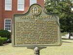 Treutlen County Marker, Soperton, GA