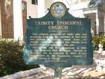 Trinity Episcopal Marker (Obverse), Apalachicola, FL