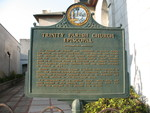 Trinity Episcopal Church Marker (Reverse), Apalachicola, FL