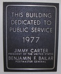 Post Office (39815) Dedication Plaque, Attapulgus, GA