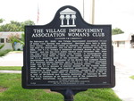Village Improvement Association Woman's Club Marker, Green Cove Springs, FL by George Lansing Taylor Jr.