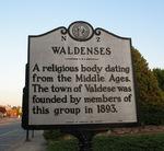 Waldenses Marker, Valdese NC