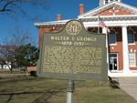 Walter F. George Marker, Preston, GA