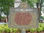 Walton County Marker, Monroe, GA