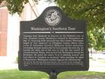 Washington's Southern Tour Marker, Waynesboro, GA