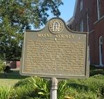Wayne County Marker, Jesup, GA
