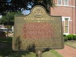 Waynesborough Marker, Waynesboro, GA