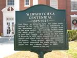 Wewahitchka Centennial Marker (Obverse), FL
