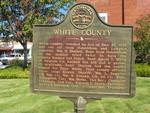 White County Marker, Cleveland, GA