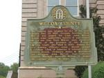 Wilcox County Marker, Abbeville, GA
