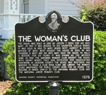 Woman's Club Marker, Marianna, FL by George Lansing Taylor Jr.