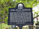 Zora Neale Hurston Marker, St. Augustine, FL