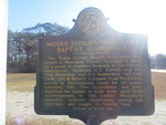 Middle FL Missionary Baptist Association Marker, Madison Co., FL by George Lansing Taylor Jr.