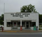 Post Office (31560) Screven, GA