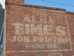 Alma Times Sign, Alma, GA