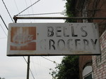 Bell's Grocery Sign, Buckhead, GA by George Lansing Taylor Jr.