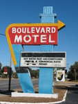 Boulevard Motel Sign, DeLand, FL