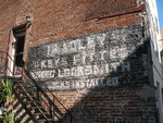 Bradley Locksmith Sign, Savannah, GA