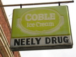 Neely Drug Sign, York, SC by George Lansing Taylor Jr.