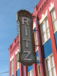 Ritz Theater Sign, Brunswick, GA