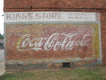 Coca Cola Sign, Pitts, GA