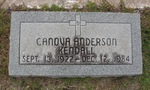 Canova Anderson Kendall gravestone Green Cove Springs, FL by George Lansing Taylor Jr.