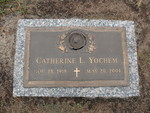Catherine L. Yochem gravestone Jacksonville, FL by George Lansing Taylor Jr.