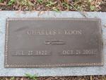 Charles R. Koon gravestone Jacksonville, FL by George Lansing Taylor Jr.
