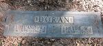 Delano W. and Hettie W. Doran gravestone Jacksonville, FL by George Lansing Taylor Jr.