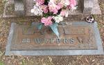 Eunice C. Waters gravestone Jacksonville, FL by George Lansing Taylor Jr.