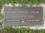 George Lansing Taylor gravestone Jacksonville, FL by George Lansing Taylor Jr.
