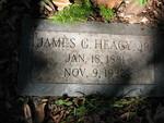 James G. Heagy Jr. gravestone Jacksonville, FL by George Lansing Taylor Jr.